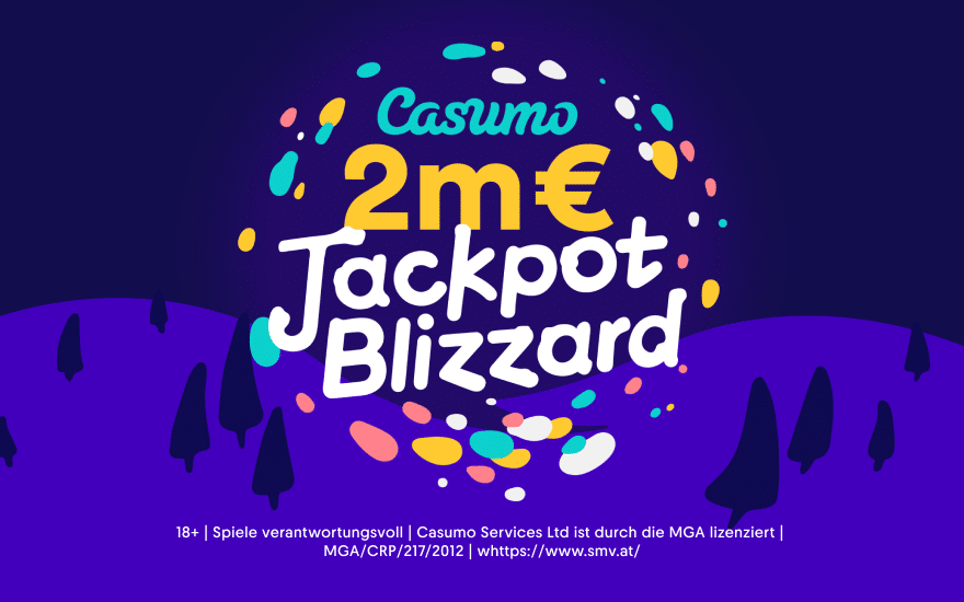 Casumo's exklusiver 2 Mio. € Cash Blizzard