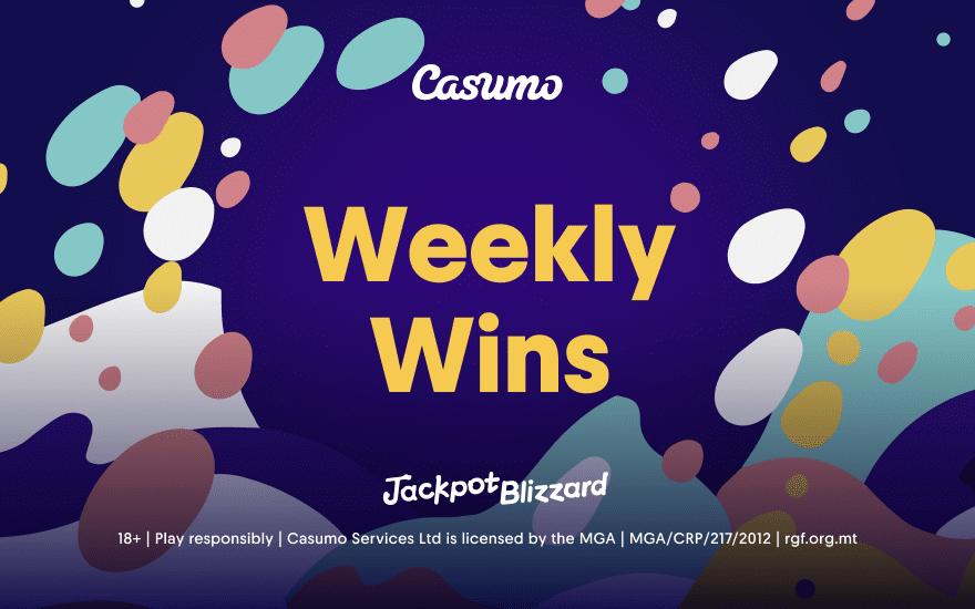 Jackpot Blizzard Weekly Wins