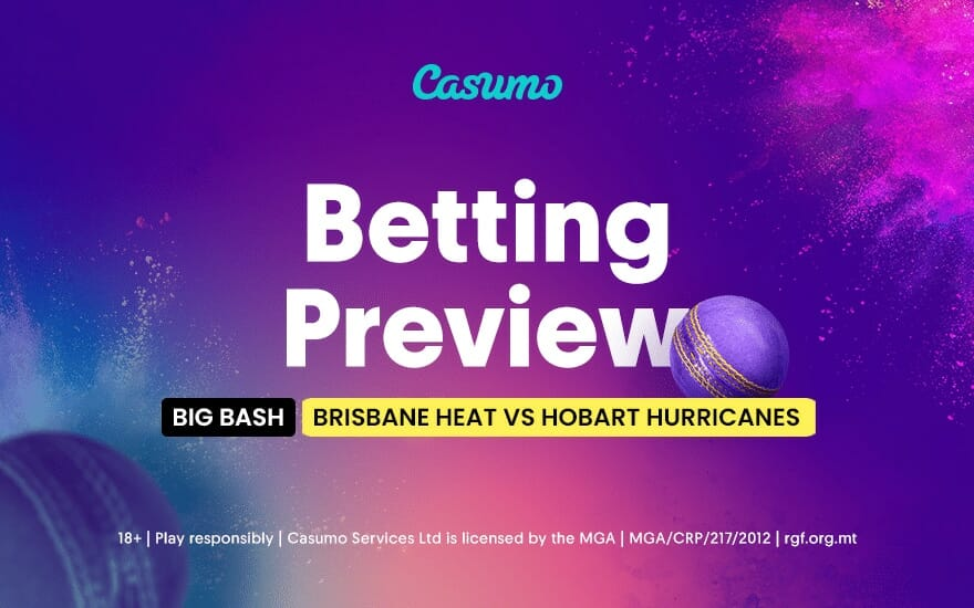 Hobart hurricanes vs brisbane heat betting tips las vegas sports betting services