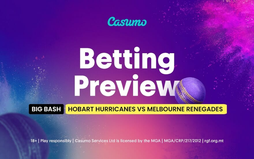 Hobart hurricanes vs melbourne renegades betting tips arsenal vs burnley betting previews