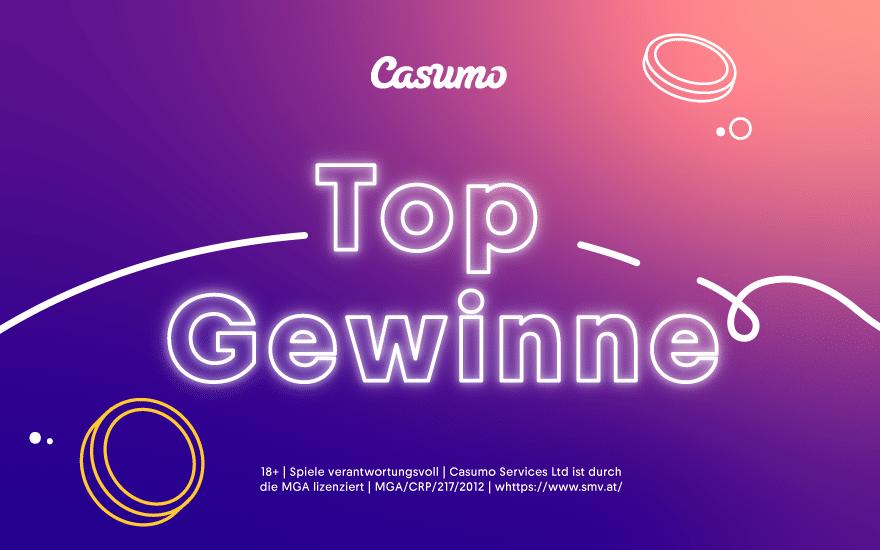 Top Gewinne bei Casumo