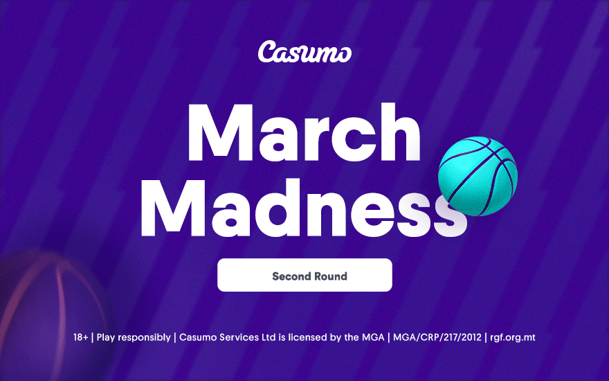 March Madness second round Casumo Preview